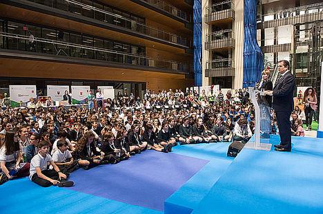 Participantes en la última edición de Retotech, en la sede de Endesa en Madrid.