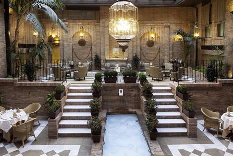 El secreto mejor guardado de Vincci Hoteles: la frescura está en sus patios...
