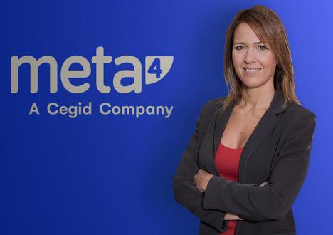 Cegid anuncia el nombramiento de Patricia Santoni, como nueva Directora General de Meta4 en Iberia