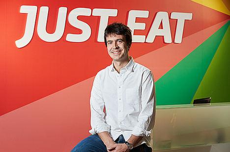 Patrik Bergareche, Just Eat España.