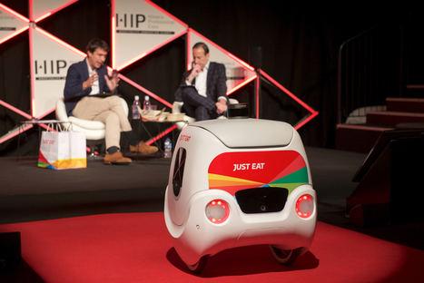 Just Eat analiza el futuro de la comida a domicilio y la tecnología robótica