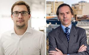 Paulo Damo, y Rafael Romero, Allianz Global Corporate.