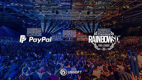 Ubisoft® da la bienvenida a Paypal como socio clave para la Pro League y Majors de Tom Clancy's Rainbow Six®