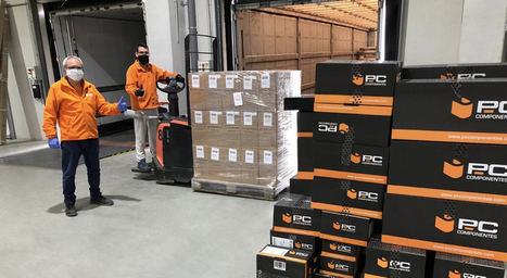 PcComponentes dona 600 kilos de filamento para la impresión 3D de equipos de protección contra el COVID-19
