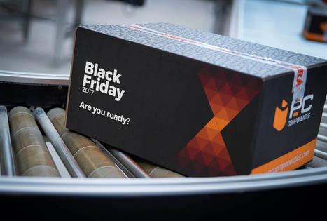 PcComponentes prevé batir récord de ventas en Black Friday 2017