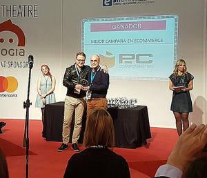 PcComponentes recibe el Premio eAward 2017 por la Mejor Campaña en eCommerce