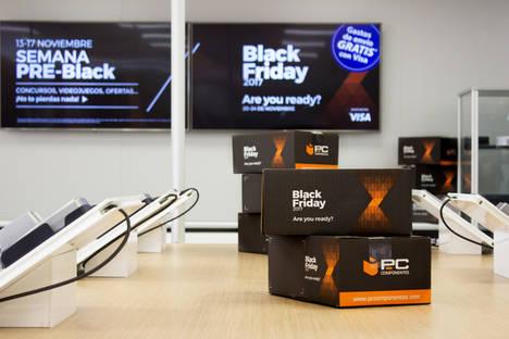 PcComponentes se prepara para recibir más de seis millones y medio de visitas durante la semana del Black Friday
