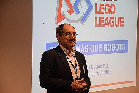 Pedro Mier, nuevo embajador del programa FIRST LEGO LEAGUE