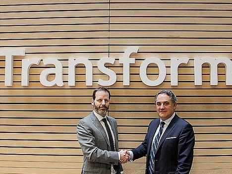 Pedro Parellada, CEO de Genetsis Solutions y Casimiro Gracia, Presidente ejecutivo de Axis Corporate.