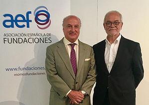 Pedro Tomey y Javier Nadal.