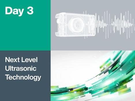 El próximo nivel de la tecnología ultrasónica: inteligente, segura funcionalmente y autónoma