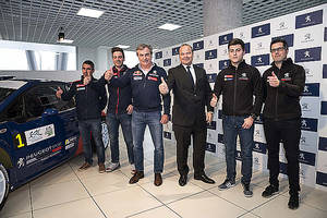Peugeot competirá con dos equipos completamente españoles en el European Rally Championship