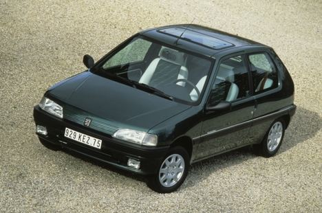 El Peugeot 106 celebra su 30º Aniversario