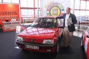 Premio para un mito de los ochenta, el Peugeot 205