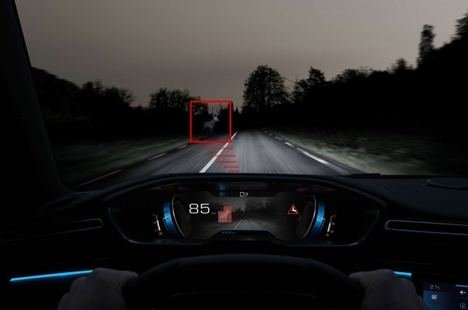"Peugeot 508 con ""Night Vision"""