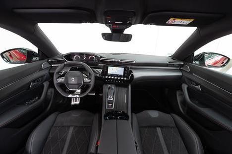 I-Cockpit Amplify del nuevo Peugeot 508