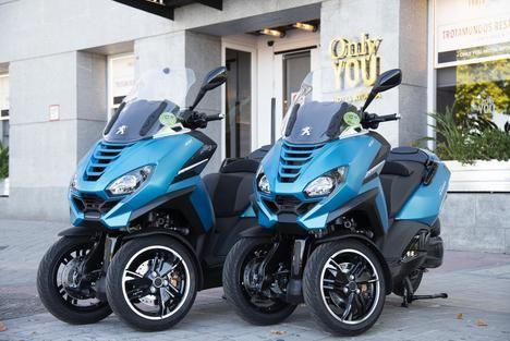 Peugeot Motorcycles, referente del sector en un año tan difícil