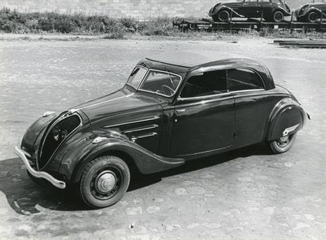 Un siglo de berlinas Peugeot