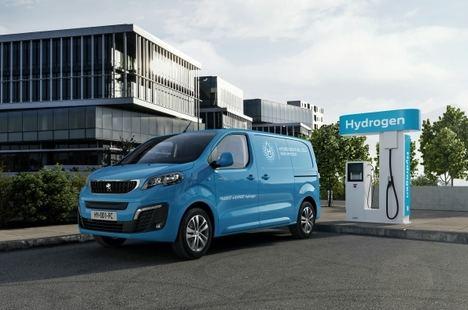 Nuevo Peugeot e-Expert Hydrogen