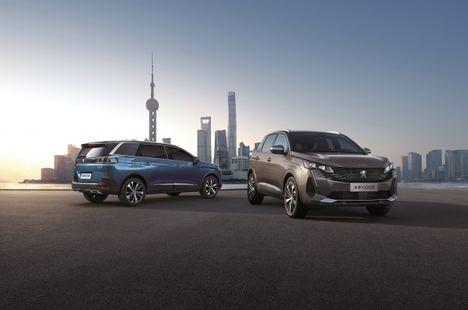 Peugeot lanza su familia SUV en el Salón de Shanghái 2021