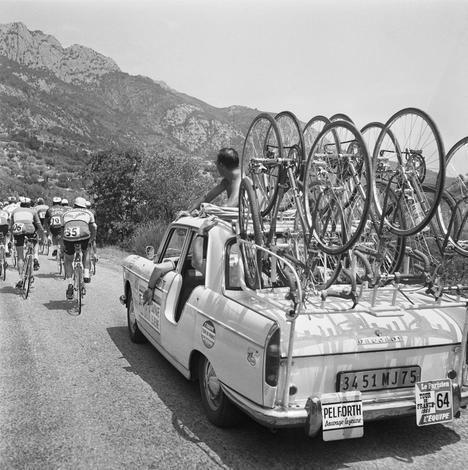 Los Peugeot del Tour de Francia