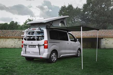 La gama Camper de Peugeot y Tinkervan