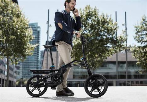 La bicicleta eléctrica plegable de Peugeot llega a España