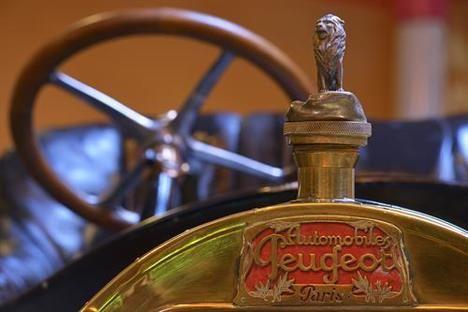 El volante de Peugeot