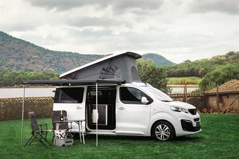 Peugeot y Tinkervan, presentan su nueva gama Camper