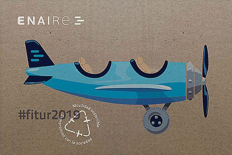 ENAIRE presenta en Fitur su compromiso con la movilidad sostenible de la navegación aérea en línea con la futura ley de Fomento