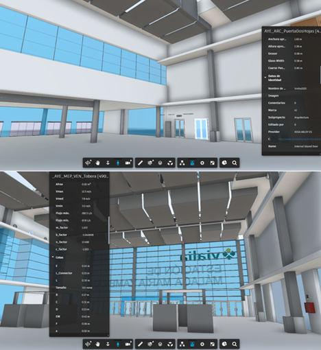 Adif inicia una nueva etapa del proyecto del modelo digital 3D de la estación de Málaga María Zambrano