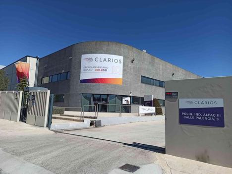 La planta de polímeros de Clarios en Ibi celebra su 10º Aniversario