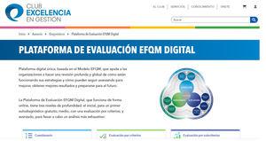 Comienza a funcionar la plataforma de evaluación EFQM Digital para facilitar la transformación de la gestión empresarial