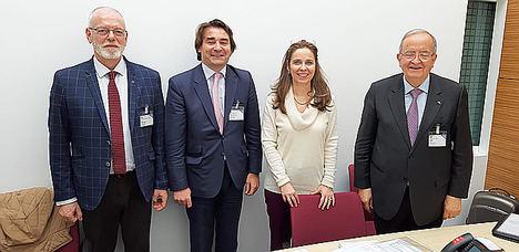 La plataforma Pymes se ha reunido por primera vez con la OCDE en París