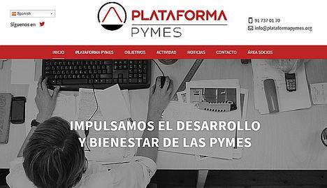 Plataforma Pymes apoya el incremento del SMI hasta los 900 €/mensuales y del SMC (salario minimo de convenio) hasta los 14.000 € anuales