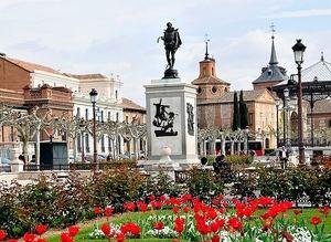Plaza de Cervantes en Alcalá de Henares.