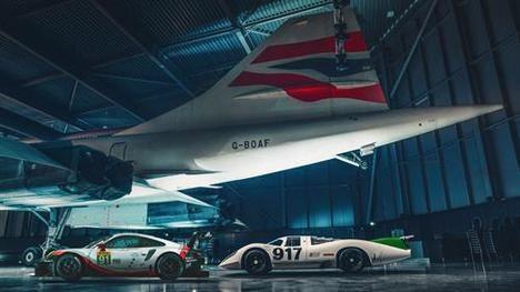 Porsche 917 frente a 911 RSR