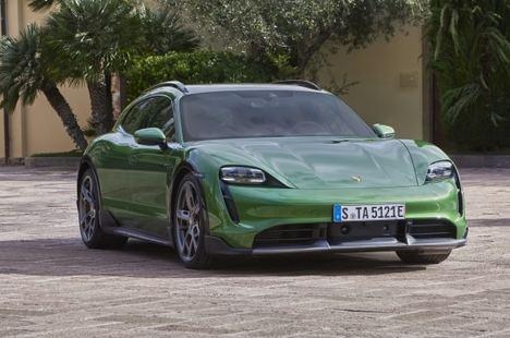 Presentación mundial del Porsche Taycan Cross Turismo