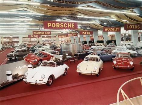 El Salón de Ginebra escenario de los lanzamientos de Porsche desde 1949