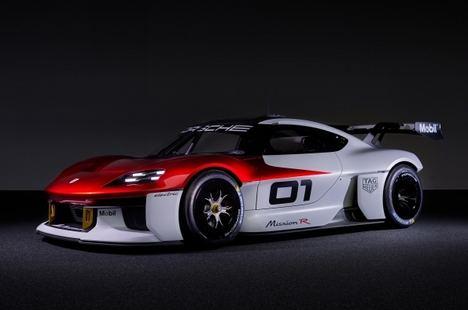 Porsche presenta el prototipo futurista Mission R