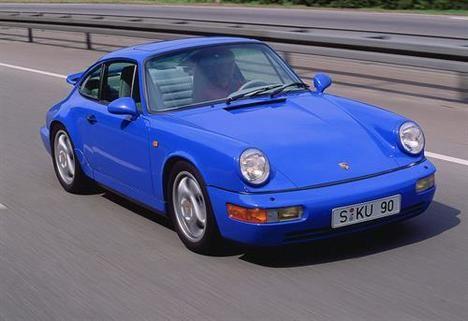 Una nueva etapa para el Porsche 911, la Serie 964