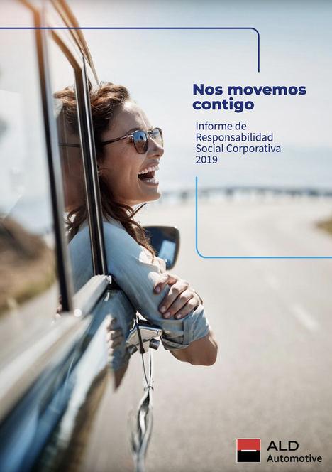 Memoria de Sostenibilidad 2019 de ALD: Herramientas digitales y nuevos servicios en renting para una movilidad personalizada