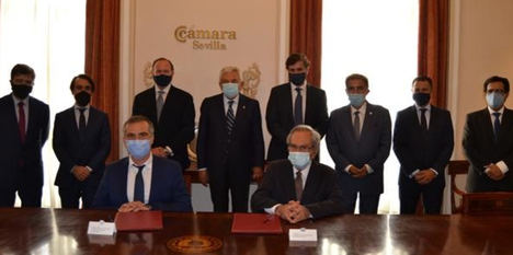 Empresarios y políticos de Portugal apoyan la conexión Sevilla-Huelva-Algarve, vía AVE