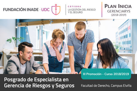 """La UDC inaugura este viernes la tercera promoción del """"PLAN INICIA GERENCIARYS"""""""