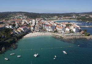 Portonovo Galicia.