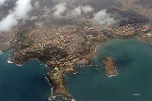 Praia, capital de Cabo verde.