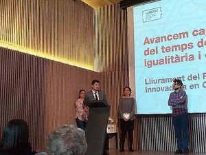 Unión de Mutuas recibe del Ayuntamiento de Barcelona el premio Empresa Innovadora en Conciliación y Tiempo