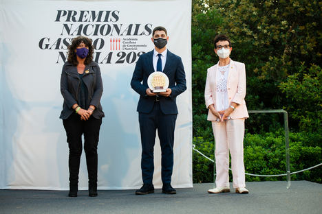 Rafel Muria, el chef de la miel, galardonado con el Premio Revelación en los Premios Nacionales de Gastronomía 2021
