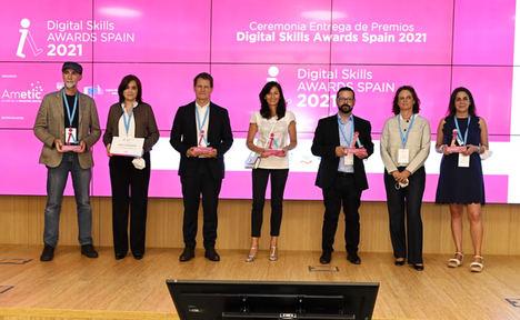 AMETIC entrega los 'Digital Skills Awards Spain 2021' a las mejores experiencias en competencias digitales