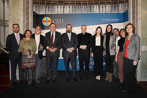 El CEU entrega sus XXIII Premios CEU Ángel Herrera